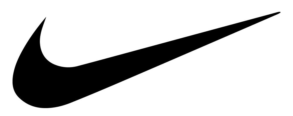 Swooh krul - Nike logo