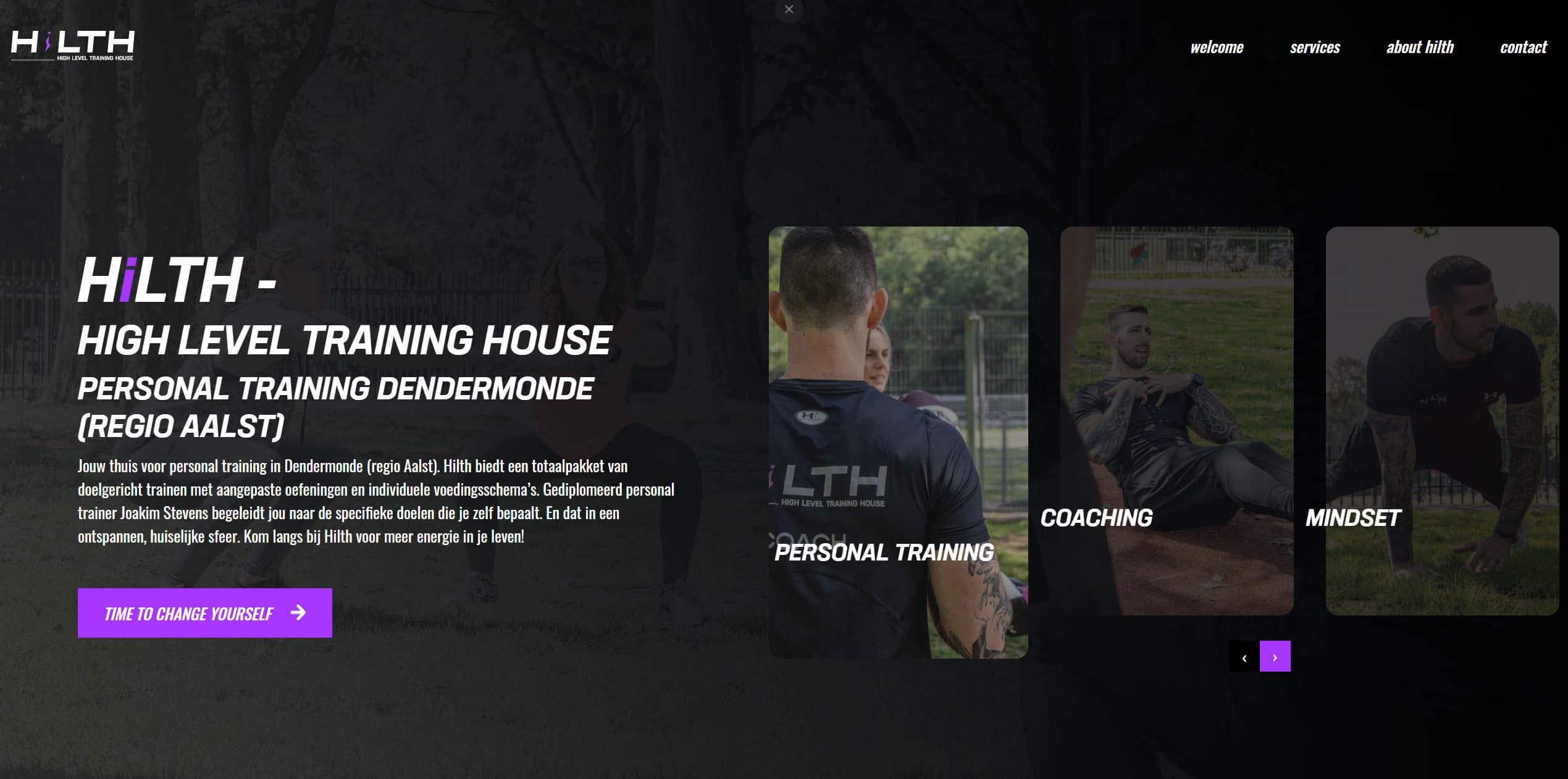 Hilth website door wcreate