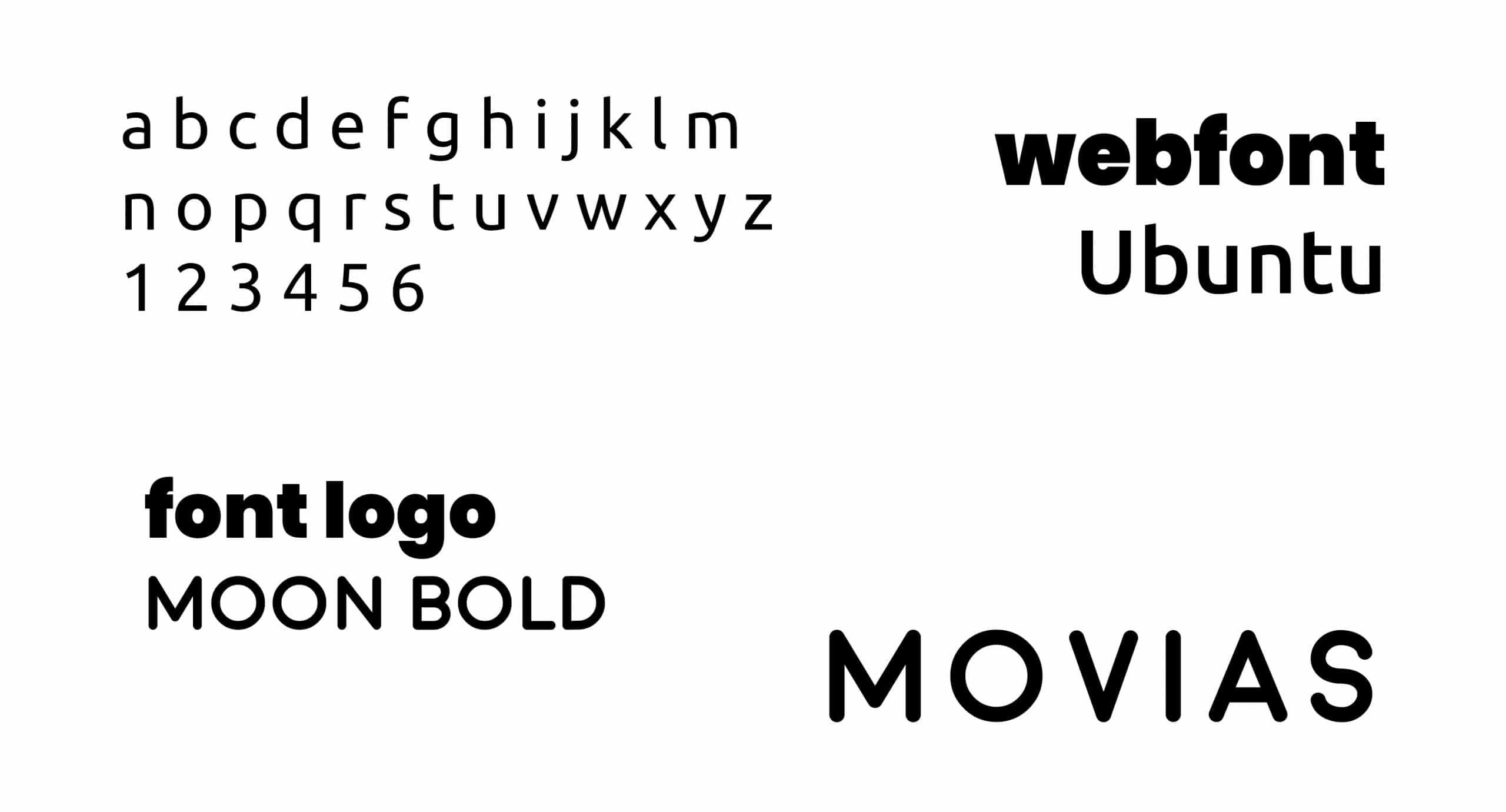 lettertype movias full branding