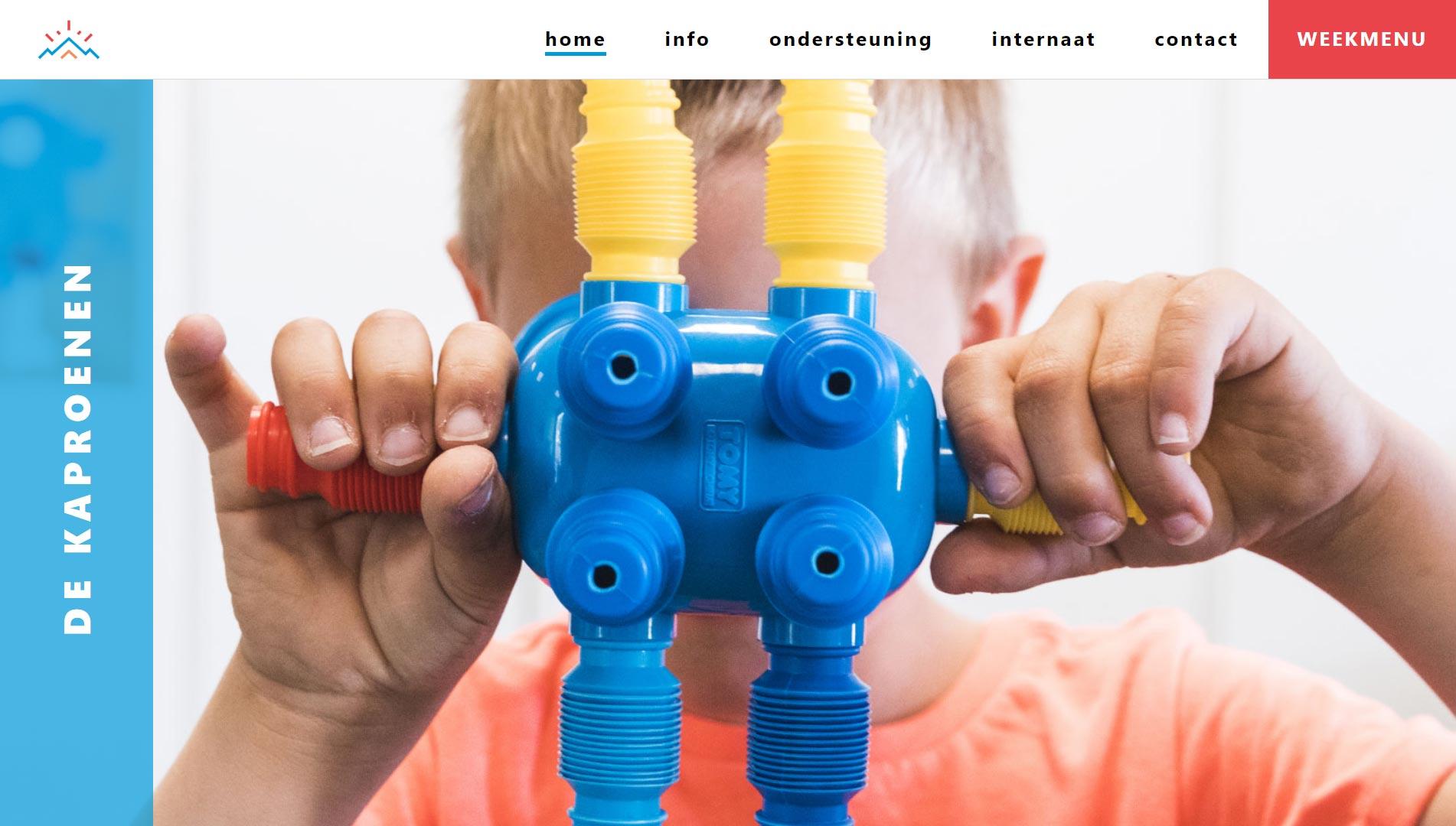 webdesign ontwerpen voor mpi de kaproenen
